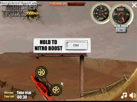 miniclip monster truck nitro miniclip monster trucks nitro level 2 youtube