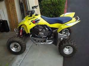 Suzuki 4 Wheelers For Sale 2007 Suzuki Racer Lt R 450k 4 Wheeler Yellow Blue