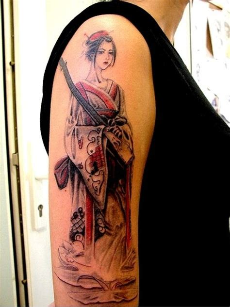 japanese lady tattoo designs japanese geisha ideas best 2015 designs