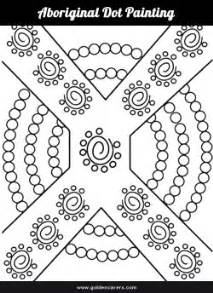 Aboriginal Templates Printable by Aboriginal Dot Painting Template 2