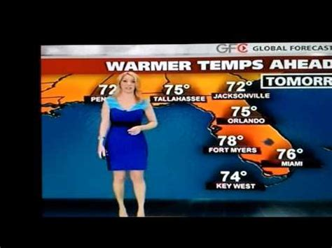 weather channel alex wilson feet hot weather girl alex wilson in blue dress youtube