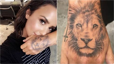demi lovato new tattoo demi lovato claims she did not copy new