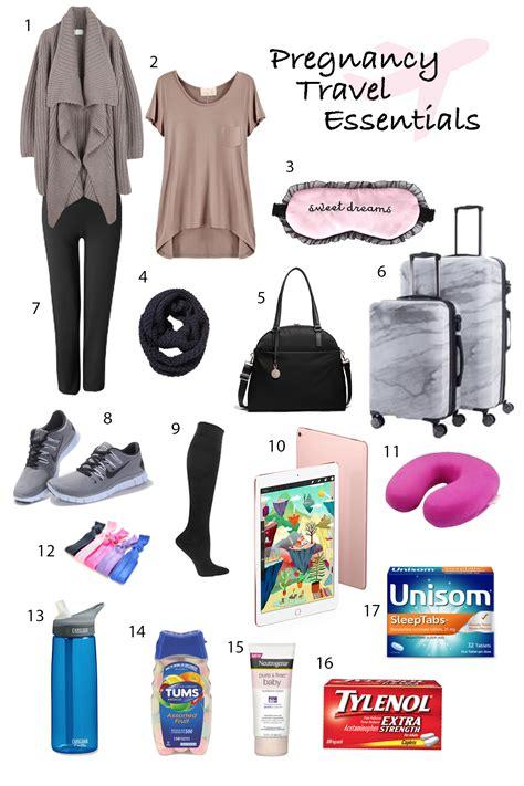 my pregnancy travel essentials tips