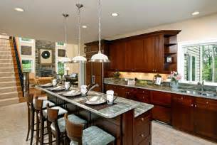 Kitchens With Bars And Islands Breakfast Bar Pictures