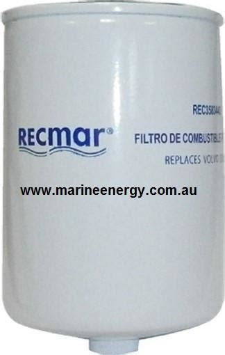 volvo penta   fuel filter  replacement marine energy systems