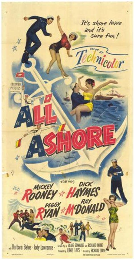 All Ashore (1953) on Collectorz.com Core Movies Mickey Rooney Movies Free Online