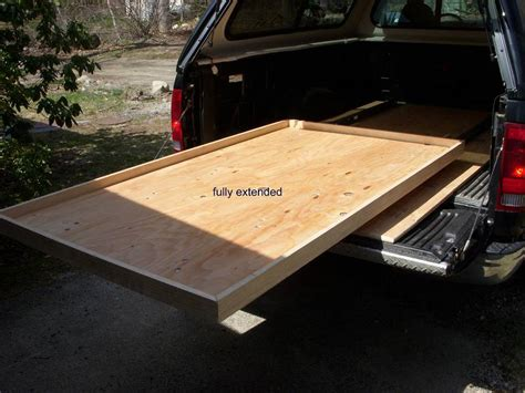 truck bed slider diy truck bed slide out bing images