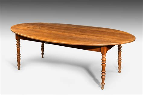 Oval Farmhouse Table by Antique Oval Farm Table Summers Davis Antiques Interiors