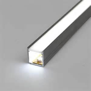 Outdoor Led Spot Light by 1m 1000mm T2 Aluminium Led Profile 12mm X 12mm Set