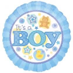 Celebration it s a baby boy hellium balloon in a box from