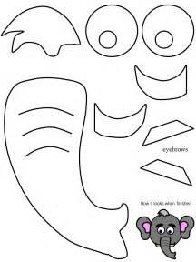 Elephant Ear Template by Elephant Ears Template Cake Ideas And Designs