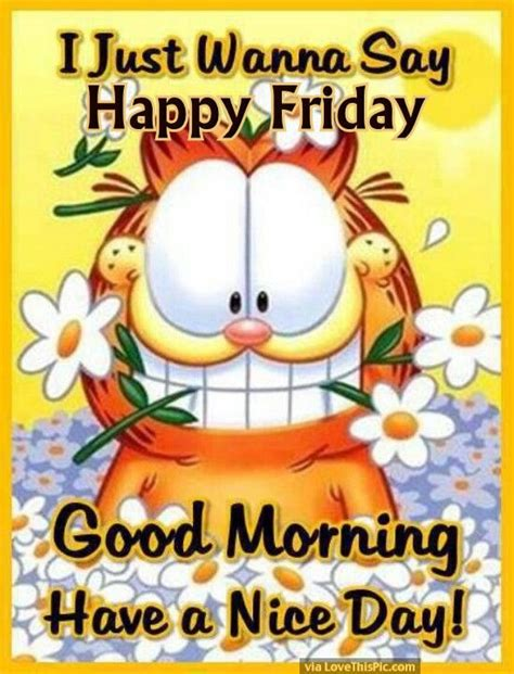Happy Friday New by Garfield Morning Happy Friday Pictures Photos And