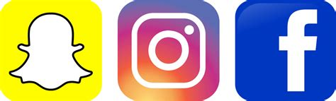 facebook instagram logos transparent ignite social media the original social media agency a