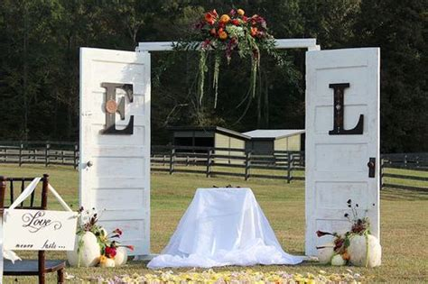 Wedding Arch Made From Doors by 55 Vintage Door Wedding Backdrops Happywedd