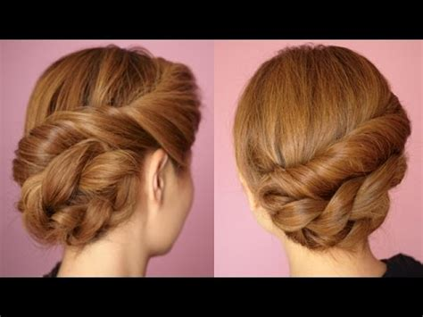 braided hairstyles tutorials youtube easy twisted rope braid hair tutorial youtube