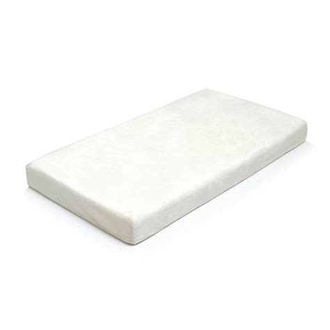 My First Mattress Memory Foam Crib With Waterproof Cover Memory Foam Mini Crib Mattress