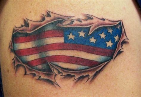 flag tattoo designs american flag designs about