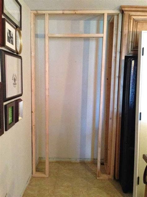 Building A Closet Door Building A Kitchen Pantry On A Budget