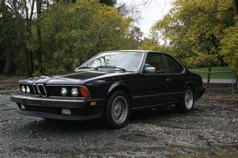 earth motor cars tx 1986 bmw 6 series for sale carsforsale