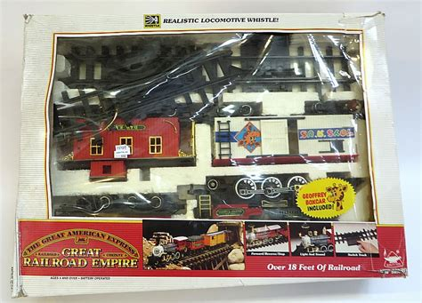 american express house insurance quot the great american express quot toy train set
