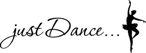 Wall Mirror Sticker aliexpress com buy just dance elegant ballet dancer