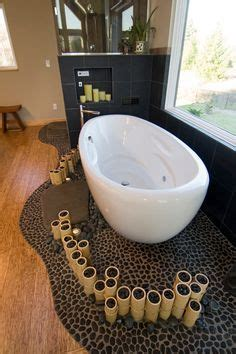 Bathroom Pebble Tile and Stone Tile Ideas on Pinterest
