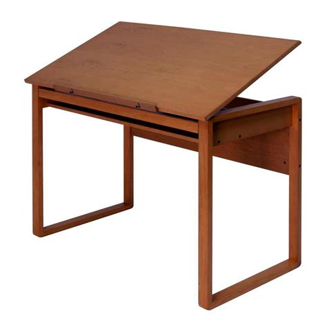design art table studio designs ponderosa wood drawing table