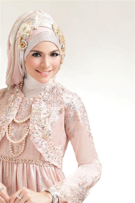 tutorial hijab syar i pengantin hijab pengantin untuk wajah bulat dan tembem