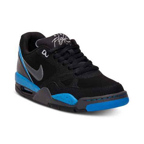 flight sneakers lyst nike flight 13 low basketball sneakers in blue for