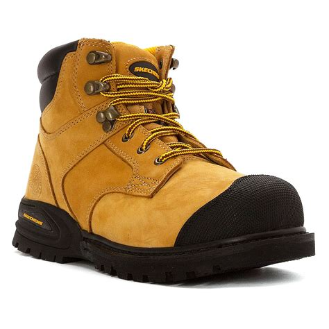 top mens work boots skechers s st work hi top work boot shoes