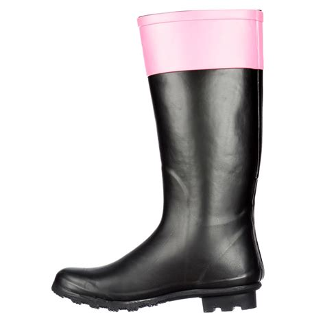 onlineshoe flat wellie wellington festival boots with
