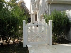 Backyard Gates For Sale Custom Built White Picket Gate Southampton Ny