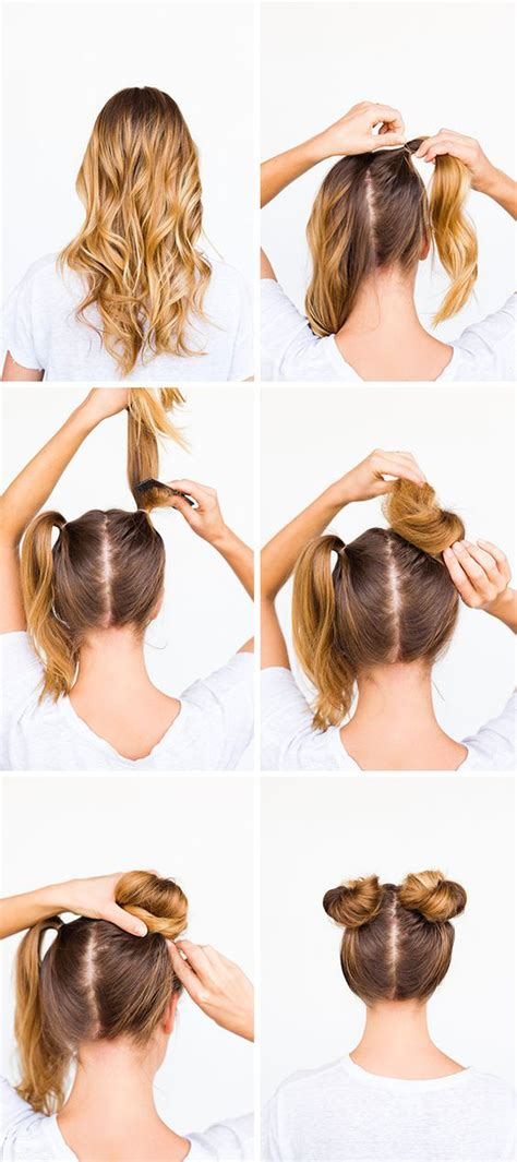 Two Buns Hairstyle Hair by 28 Ridiculously Cool Bun Hairstyles You Need To Try