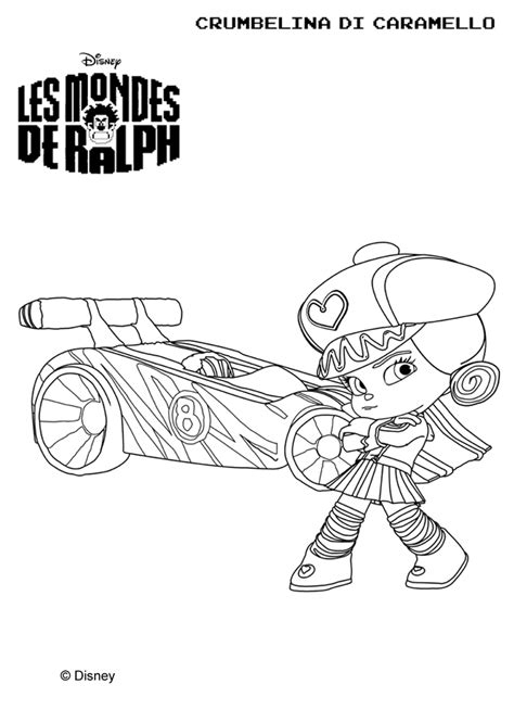 sugar rush racers coloring pages wreck it ralph sugar rush racers coloring pages www