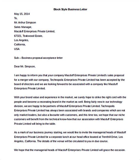 Business Letter Format Word 38 Business Letter Template Options Which Format To Use