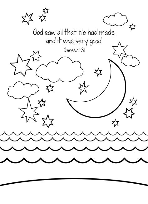 Genesis 1 Coloring Page by 9 Pics Of Bible Verse Genesis 1 Coloring Pages Bible