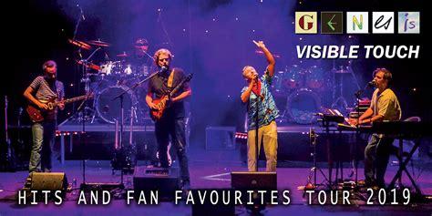 Genesis Tour 2019 by Genesis Visible Touch Hits Fan Favourites Tour 2019