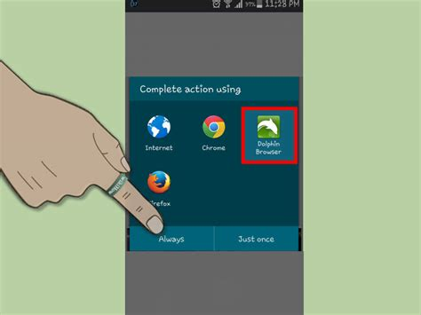 change default browser android how to change your default android browser 5 steps