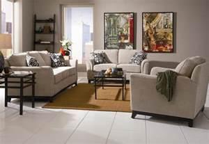Beige Chenille Fabric Modern Living Room Sofa W Options