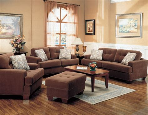 living room settings stanley collection fabric living room set sofas