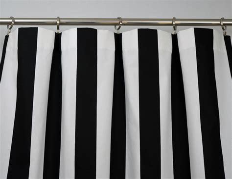 black white stripe curtain black white modern vertical stripe curtains rod pocket 84