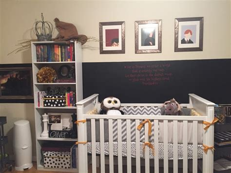 Harry Potter Inspired Nursery In Sophisticated Harry Potter Inspired Nursery Project Nursery