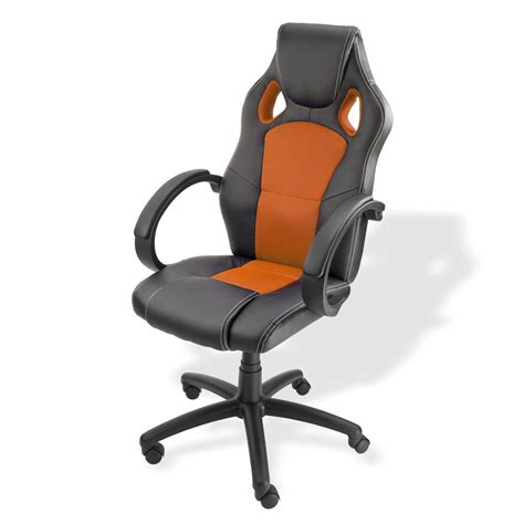 schreibtischstühle b 252 rostuhl schreibtischstuhl clermont schwarz orange
