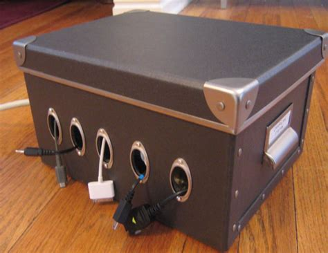 homemade charging station 8 awesome diy solutions to declutter your home goodnet