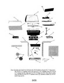 sears char broil grill parts char broil gas grill parts model 463820208 sears
