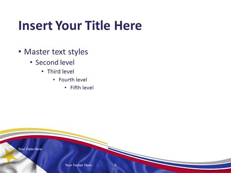 Philippines Flag Powerpoint Template Presentationgo Com