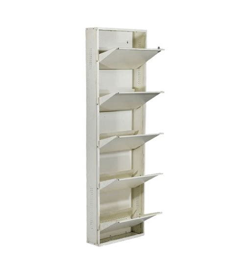 wall mounted shoe rack buy shoe den wall mounted shoe rack 5 level on snapdeal