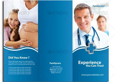 17 Best Images About Brochure Design Templates On Pinterest Medical Hospitals And Health Care Assistant Brochure Templates