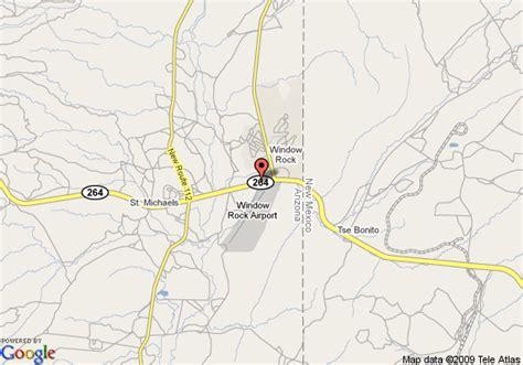 window rock arizona map map of quality inn window rock ganado