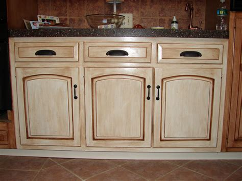 antiquing kitchen cabinets with paint how to paint antique white kitchen cabinets randy